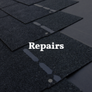 We repair leaks, blown off shingles, any other damages.