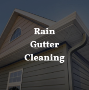 Enjoy no hassle gutter cleaning, we remove leaves, silt, tree particles.
